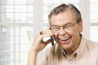 Fröhliche Rentner im MLM