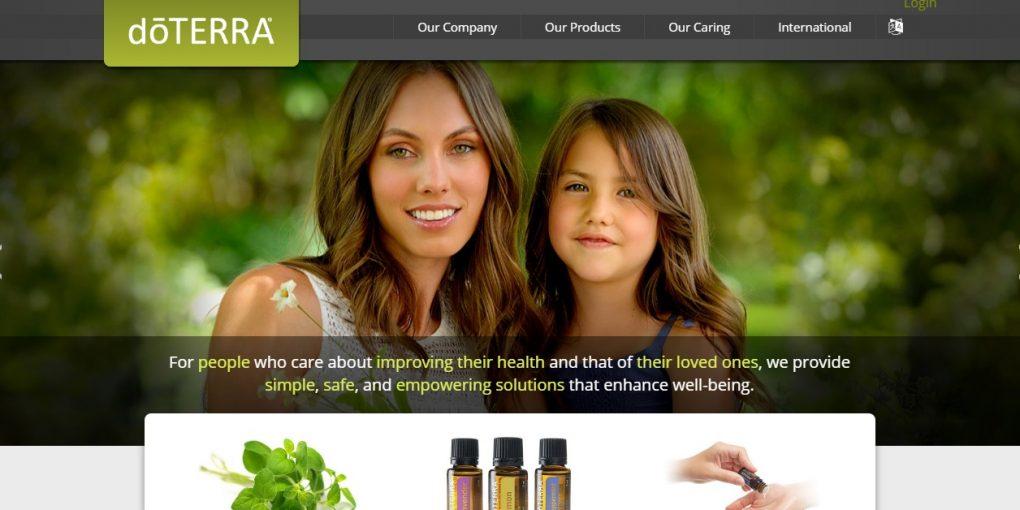 doterra Webseite Quelle: doterra.com
