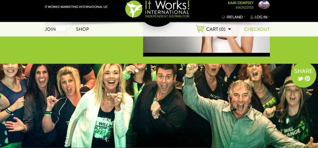 Works Global Erfahrungen Webseite von Kami Dempsey
