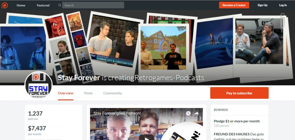 Stayforever Patreon deutsch