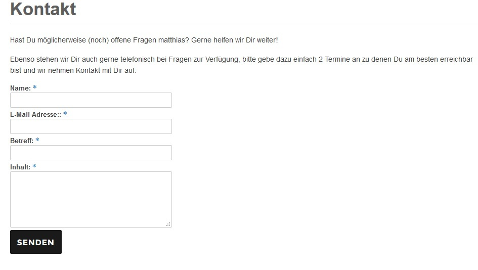 Wordpress Kontaktformular erstellen Plugin Contact Form 7