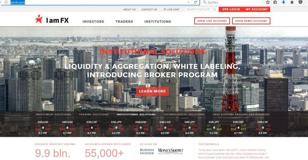 IAMFX Website iamfx.com