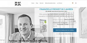 Rolf Kipp Forever Living Products Webseite