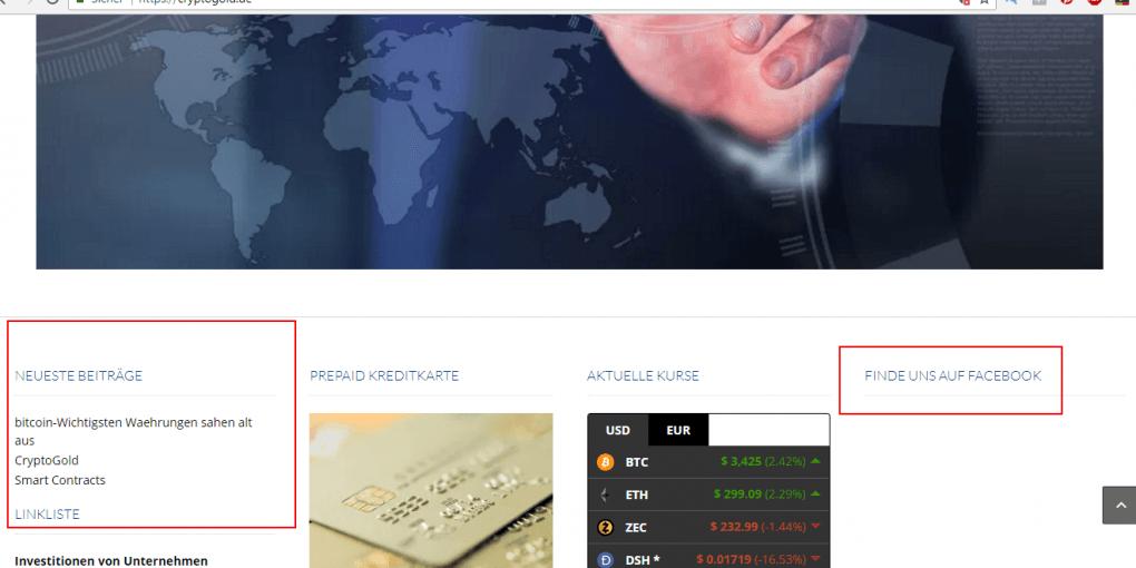 Cryptogold Betrug