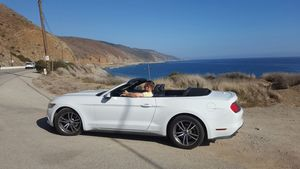 Cruisen mit Mustang Route 1