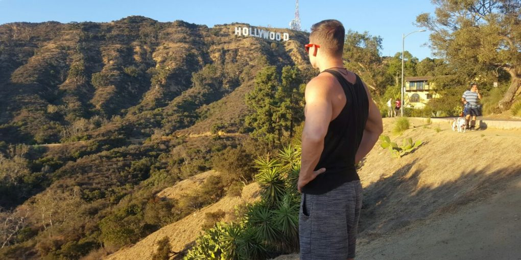 Hollywood Sign bester Blick
