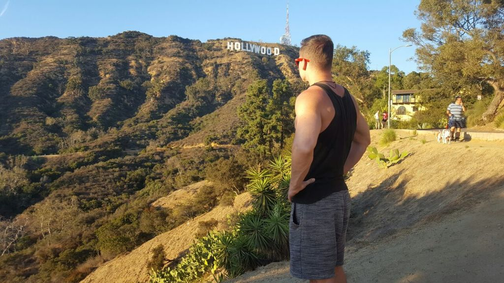 Hollywood Sign bester Blick
