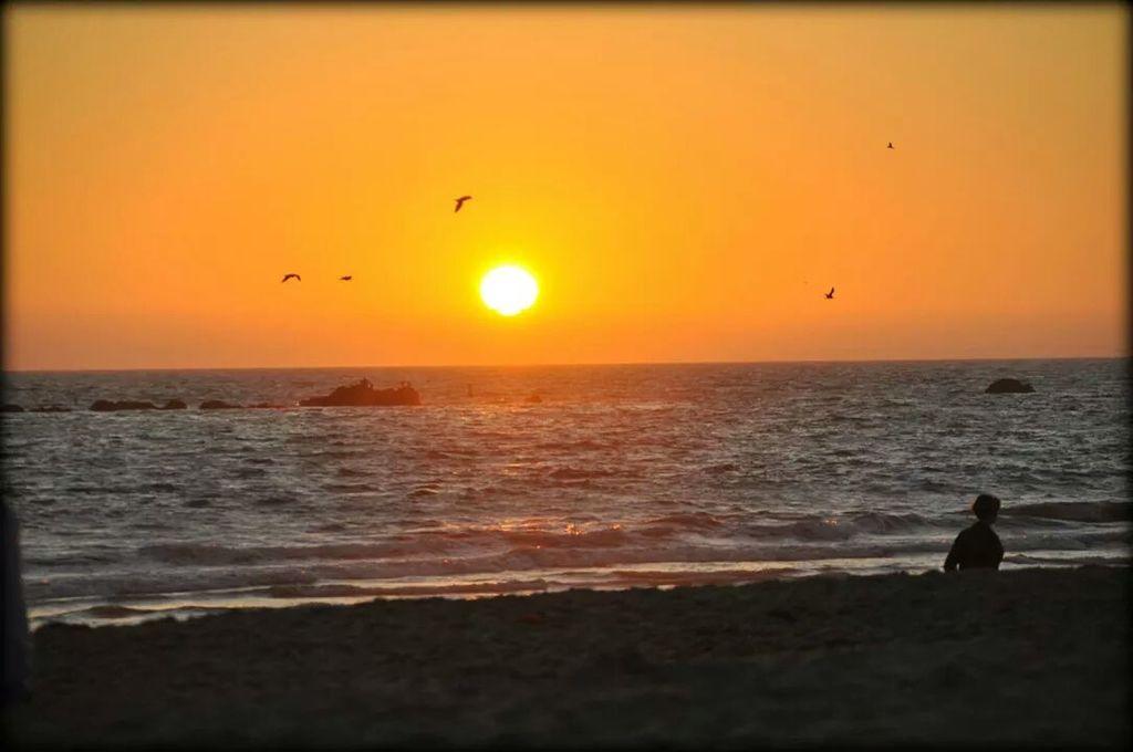 Santa Monica Sonnenuntergang