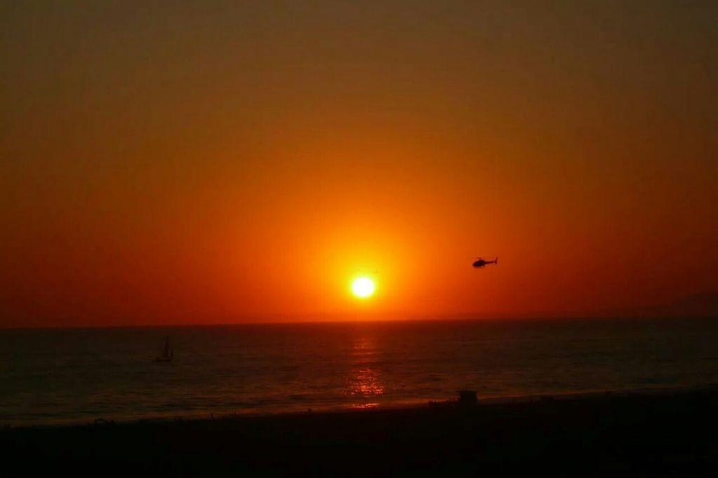 Sonnenuntergang Venice Beach