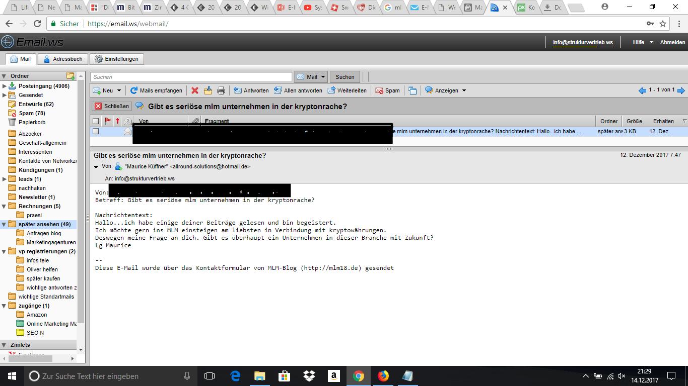 MLM-Kryptowährung