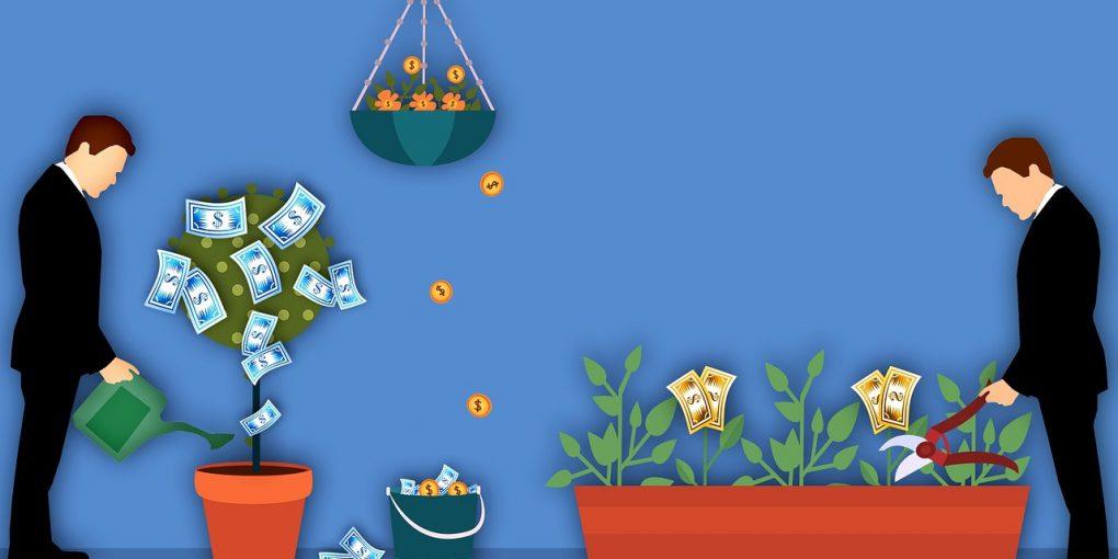 Geld investieren und verdienen