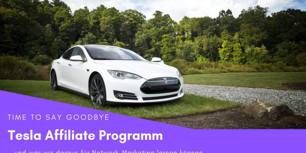 Tesla Car Affiliate Program