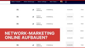 Network Marketing online aufbauen