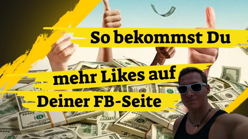 Wie bekomme ich mehr Likes auf meiner Facebook Seite