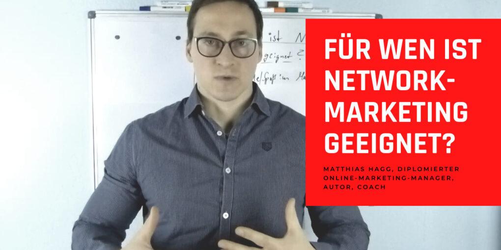 Für wen ist Network-Marketing geeignet?
