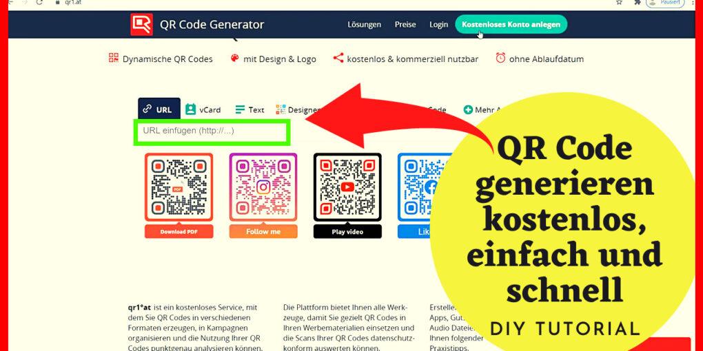 QR Code generieren kostenlos