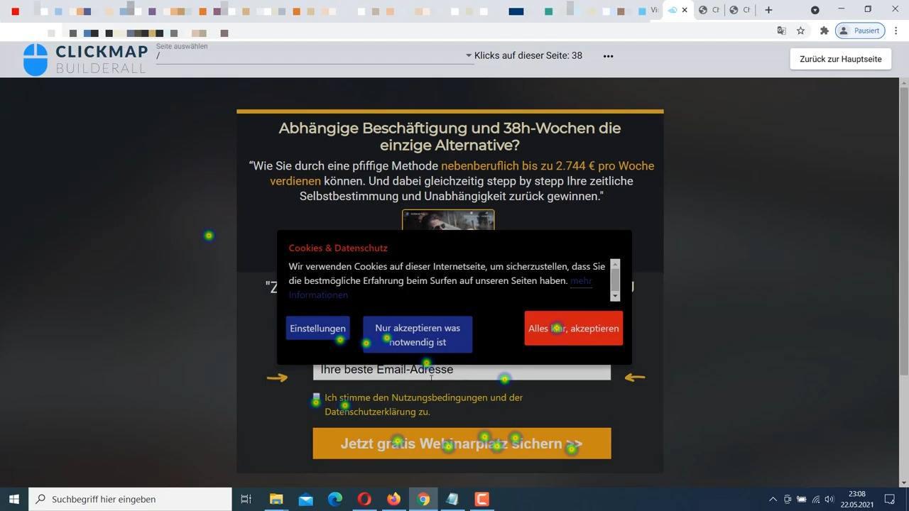 Heatmap erstellen - Click Tracking