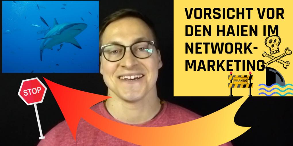 Vorsicht vor den Haien im Network-Marketing